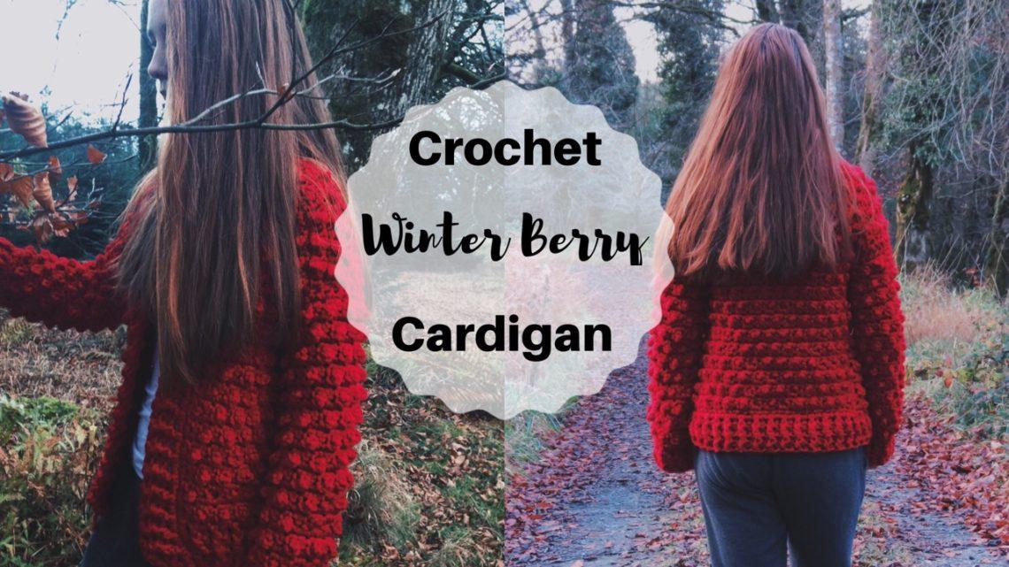 free crochet bobble cardigan pattern
