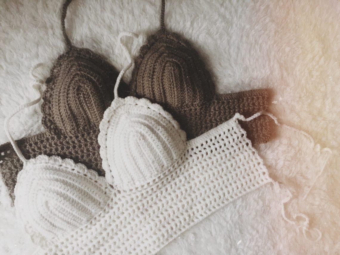 Easy Crochet Crop Top -