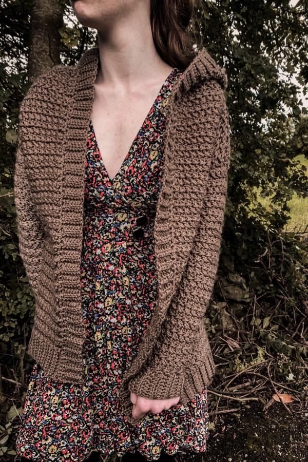 Kari Pullover Sweater Crochet Pattern pdf